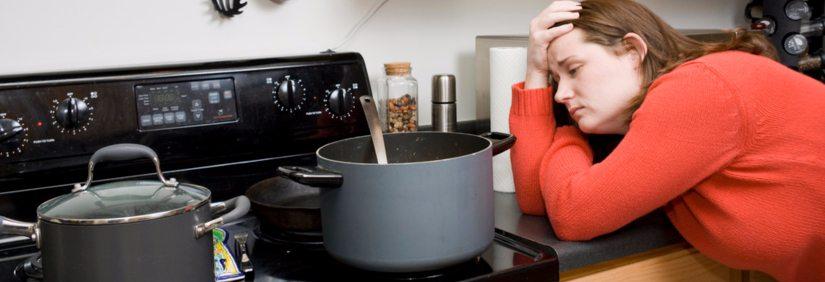 Problèmes de cuisinière à gaz